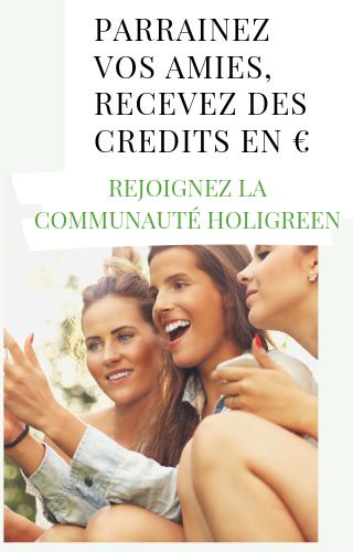 Rejoignez la communauté Holigreen